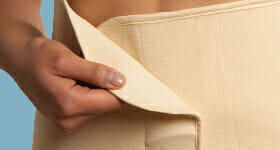 Carriwell Organic Belly Binder Nude Colour