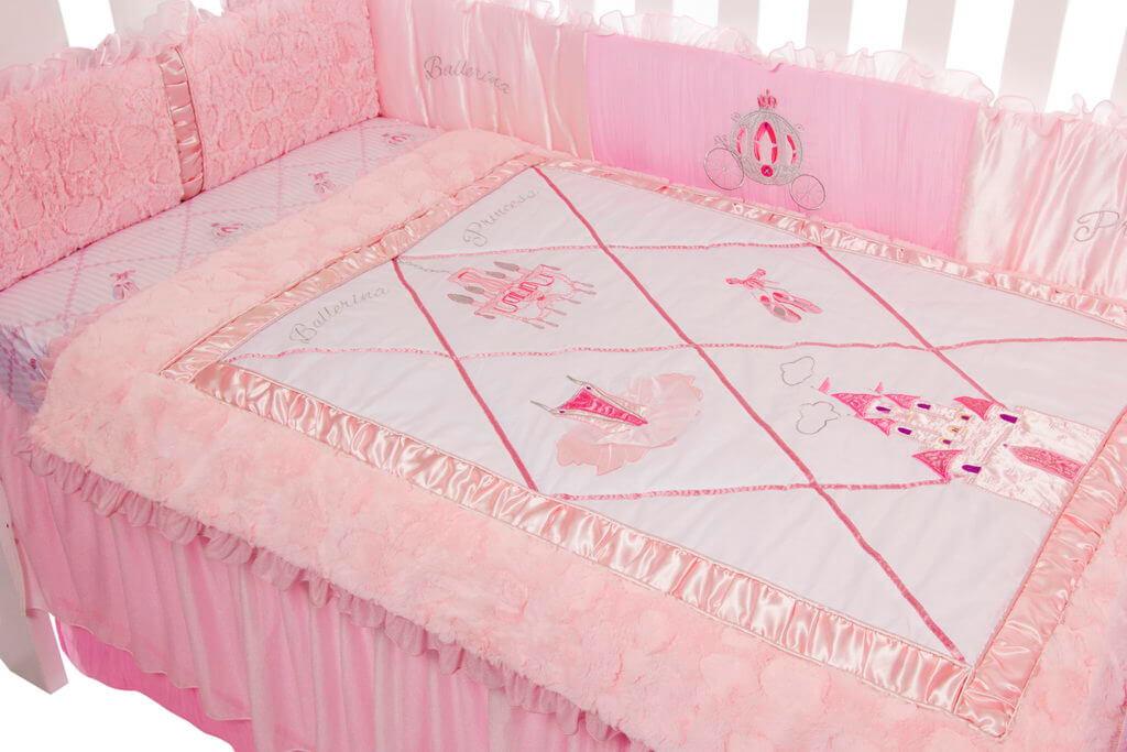 Amani Bebe Princess Ballerina 4 Pce Bedding Set