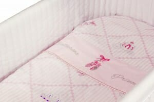 Amani Bebe Ballerina Princess 3pce Bassinet Sheet Set