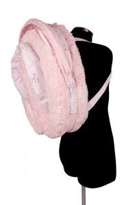 Ballerina Princess Cosy Crib Folded for travel