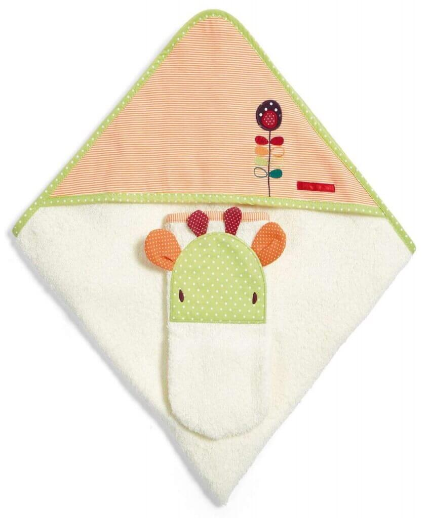 Mamas & Papas Jamboree Hooded Towel & Mitt