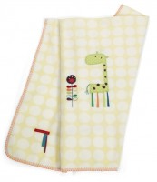 Mamas & Papas Jamboree fleece pram blanket