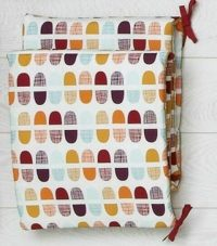 Mamas & Papas Patternology Geometric Bumper Folded