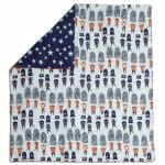 Mamas & Papas Patternology Soldier cotbed Quilt