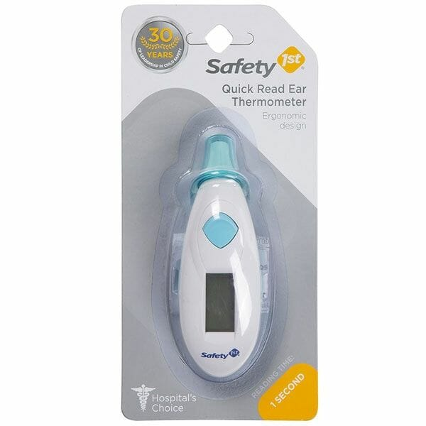 Safety 1st Quick Read Ear Thermometer Packaging
