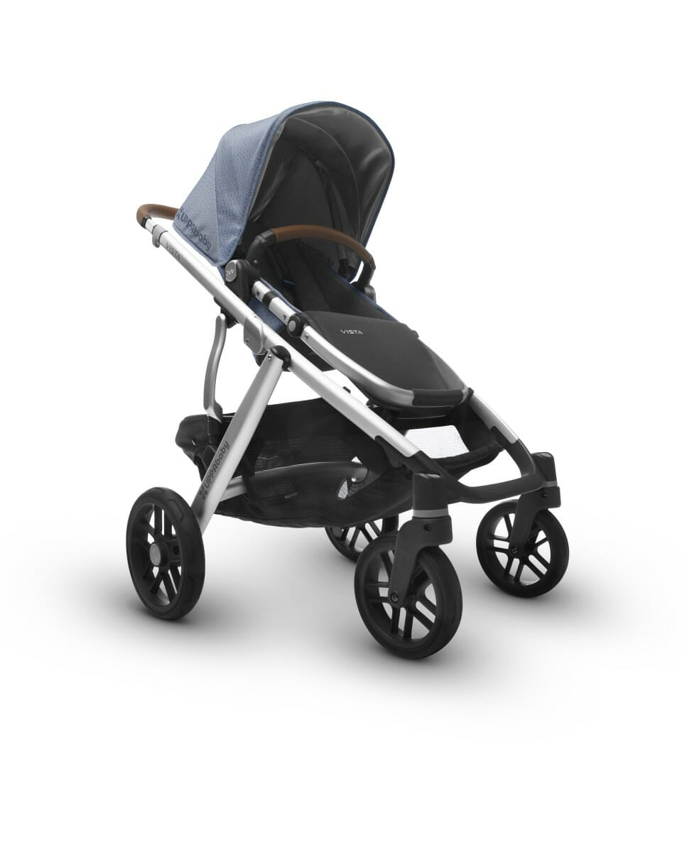 UPPAbaby Vista Stroller Henry Low Angle