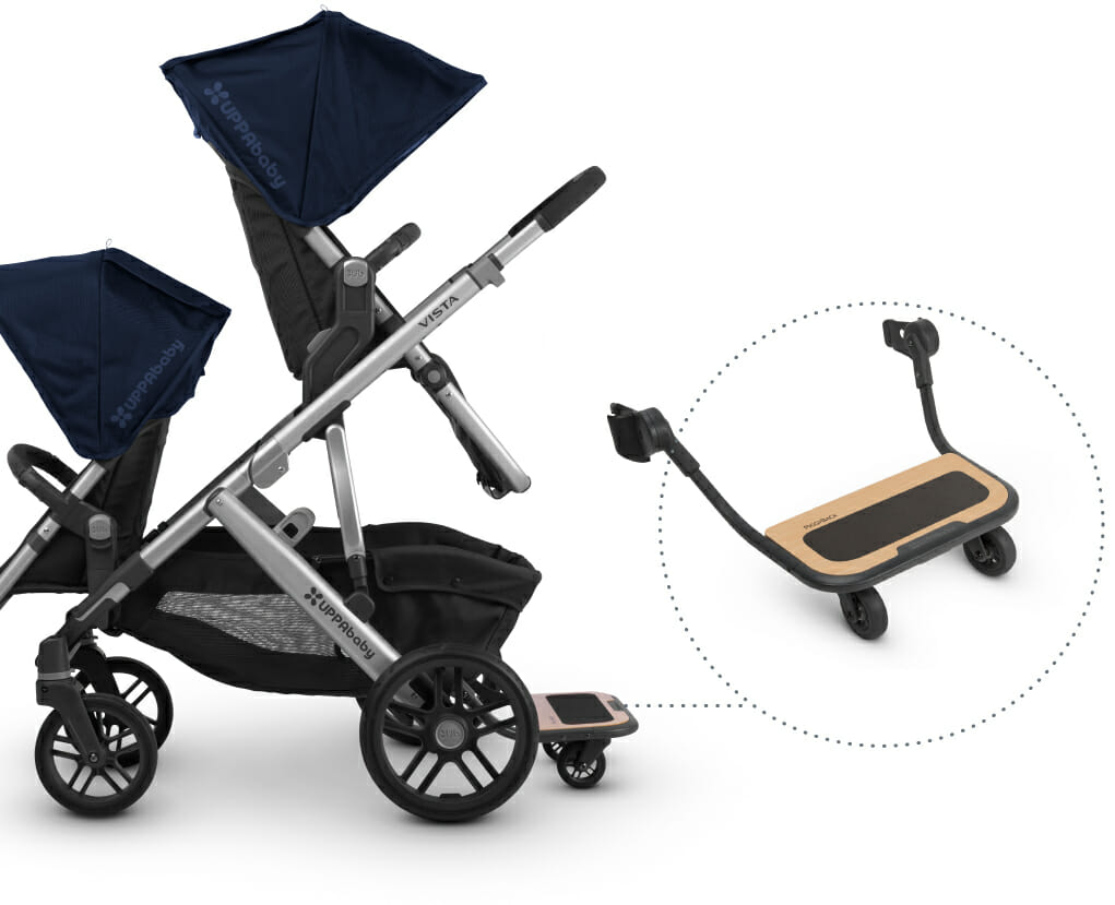 Uppababy Vista 3 in Tow