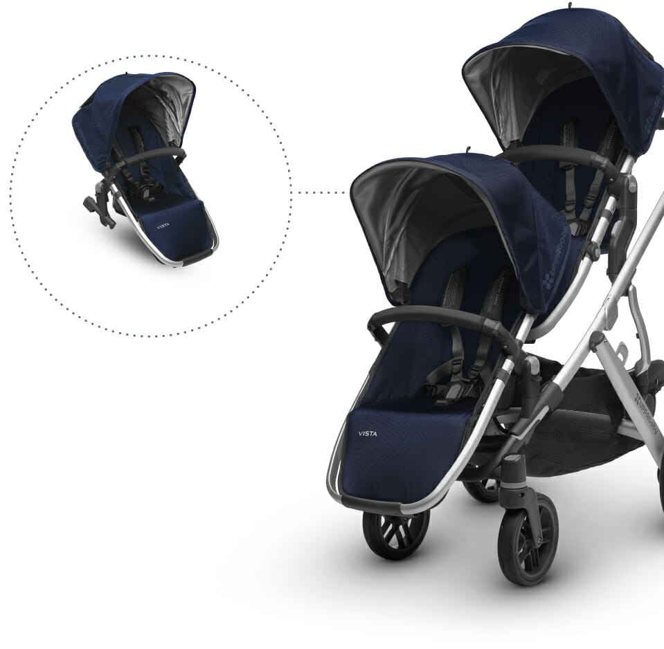 Uppababy Vista For Toddler and Toddler