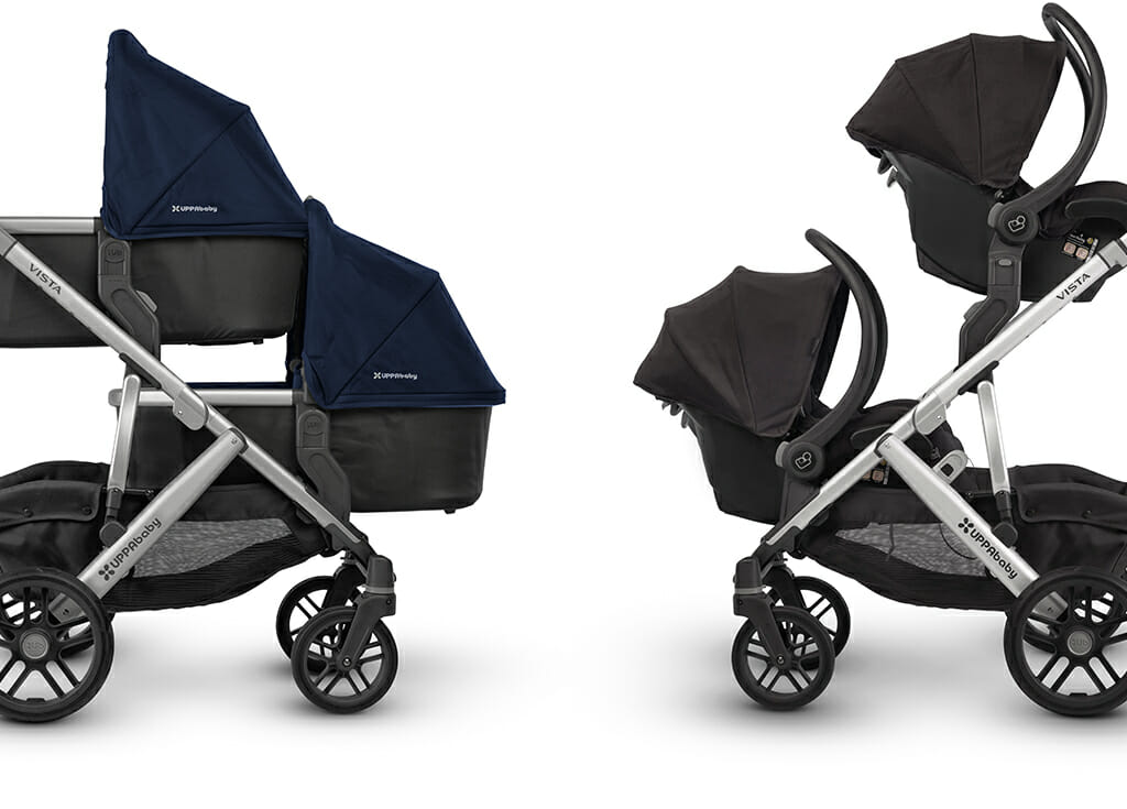 Uppababy Vista For Twins