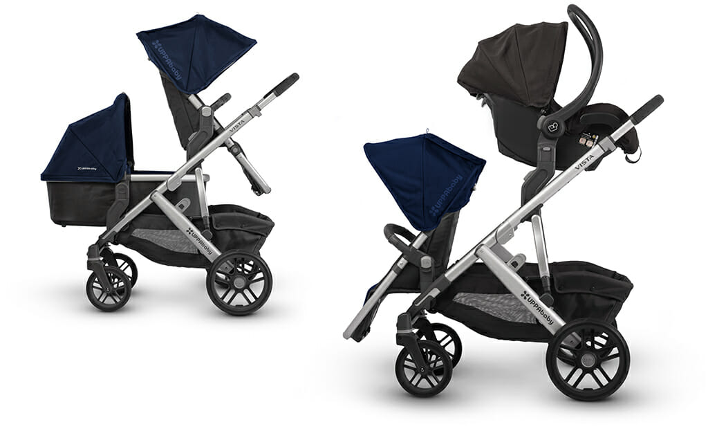 Uppababy Vista For Infant and Toddler