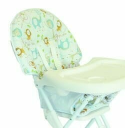 Easy Fold High Chair Removable Tray