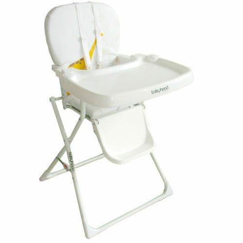 babyhood easy fold high chair white