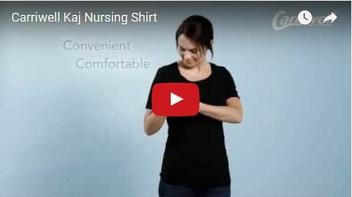 Carriwell Kaj Nursing Top