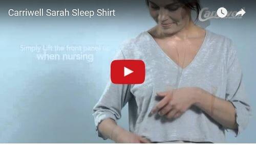 Carriwell Sarah Sleep Shirt Video