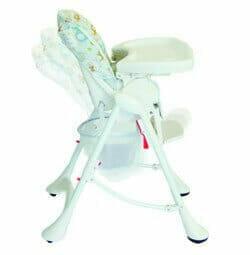 babyhood Keira High Low Chair Recline Feature