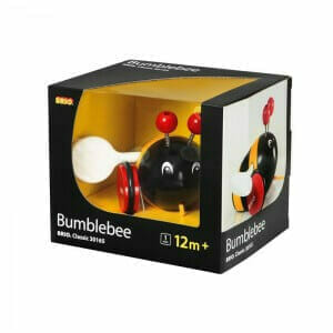 Brio Pull Along Bumblebee Packaging