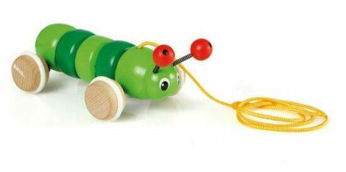 Brio Pull Along Caterpillar