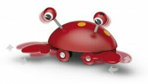 Brio Push-along Crab