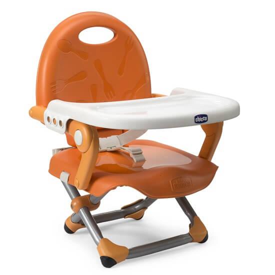 Pocket Snack Booster Seat Mandarino