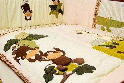 Amani Bebe Wild Things 5 Piece Bedding Set