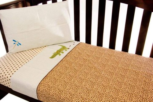 Amani Bebe Wild Things 3pce Cot Sheet Set