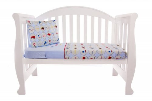 Amani Bebe Under Construction 3pce Cot Sheets