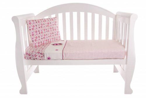 Amani Bebe Raspberry Garden 3 Piece Sheet Set