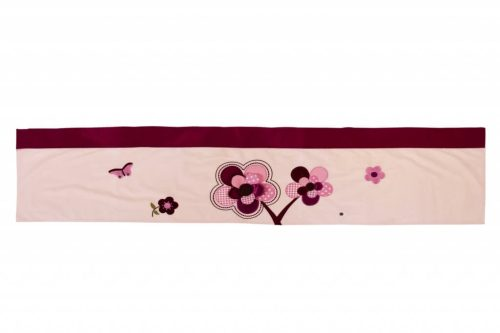 Amani Bebe Raspberry Garden Bumper