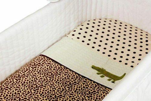 Amani Bebe Wild Things 3 Pce Bassinet Sheet Set