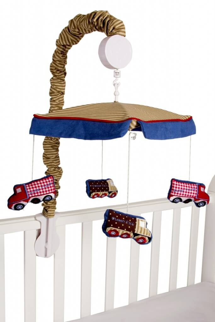 Amani Bebe Under Construction Cot Mobile