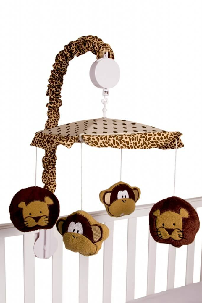 Amani Bebe Wild Things Cot Mobile