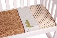 Amani Bebe Wild Things 3 Pce Cradle Sheet Set