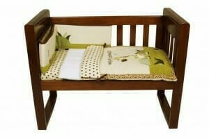 Amani Bebe Wild Things 3pce Cradle Set