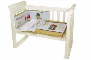 Amani Bebe Under Construction 3pce Cradle Set