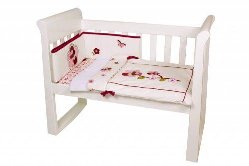 Amani Bebe Raspberry Garden 3pce Cradle Set