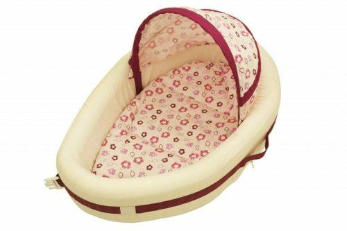 Amani Bebe Raspberry Garden Take a Long Cosy Crib