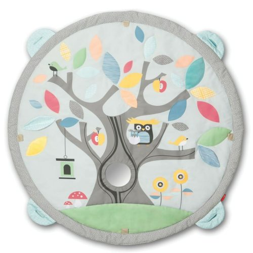 Skip Hop Treetop Friends Activity Gym Grey Pastel Mat