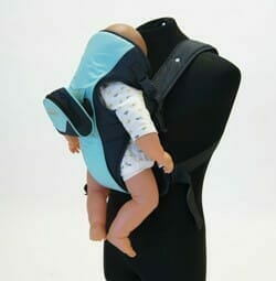 babyhood Easy Fit Secure Carrier Turquoise