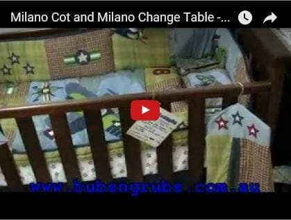 Babyhood milano cot Video Review