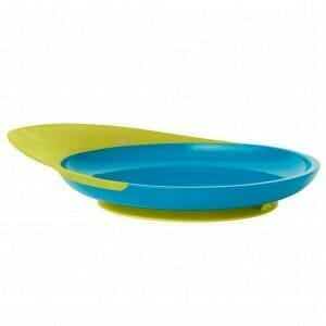 Boon Catch Plate Kiwi Blue