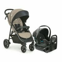 joie Litertrax 4 Travel System Khaki