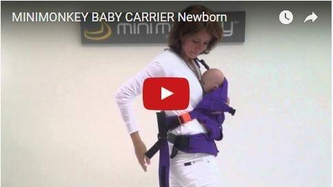 MiniMonkey Baby Carrier Newborn