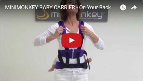 MiniMonkey Baby Carrier On Your Back