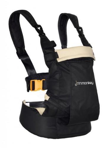 Minimonkey Dynamic baby carrier Black Sand
