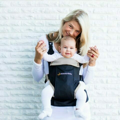 Minimonkey Dynamic baby carrier Forward Facing