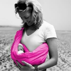 Minimonkey baby sling Pink