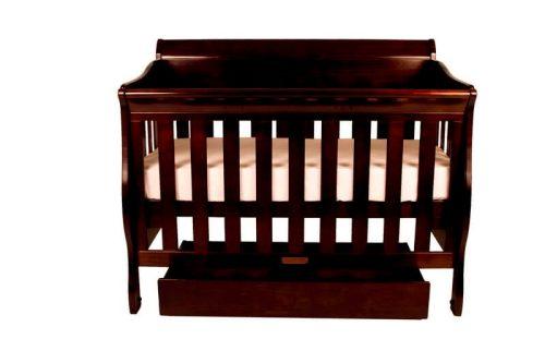 Babyhood Amani Cot English Oak