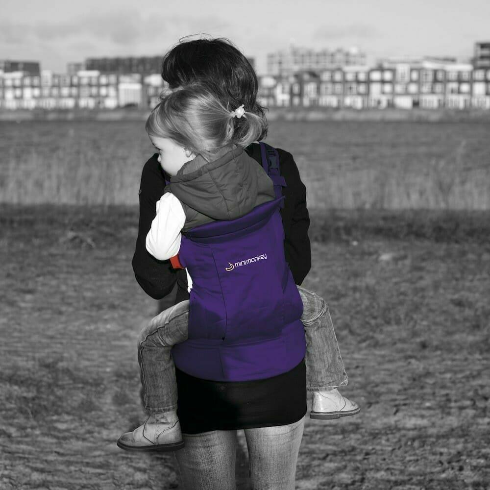 Minimonkey Baby Carrier Purple