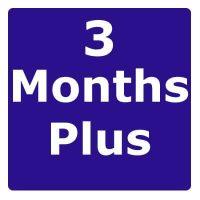 3 Months Plus