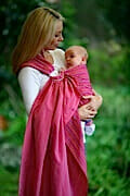 Hug-A-Bub Traditional Ring Sling Front Carry